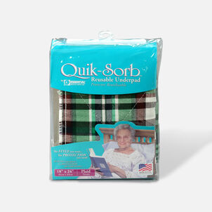 Essential Medical Supply Quik-Sorb Reusable Underpad, 18x24