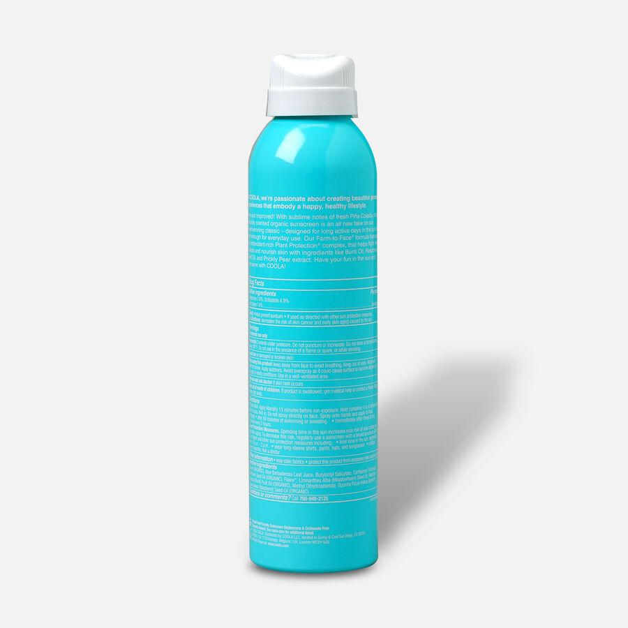 Coola Classic Body Organic Sunscreen Spray SPF 30, Pina Colada, 6oz, , large image number 1