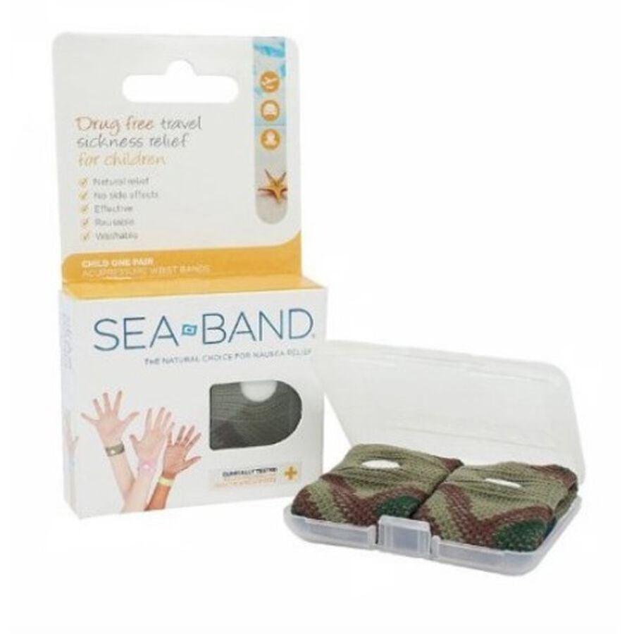 Sea-Band Wrist Band, Child, Camouflage, , large image number 0