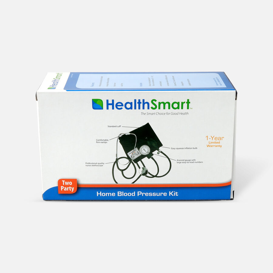 Mabis Two-Party Home Blood Pressure Monitor, , large image number 1