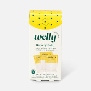 Welly Bravery Balm Triple Antibiotic Ointment Refill - 12ct