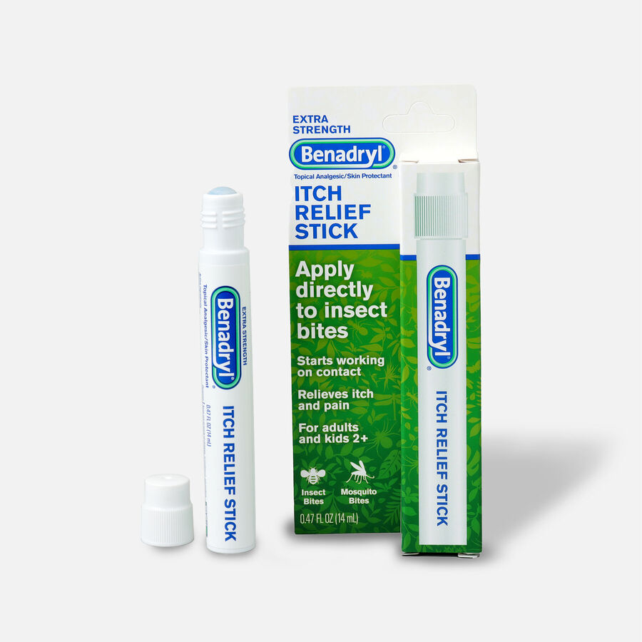 Benadryl Itch Relief Stick 14 ml, , large image number 0