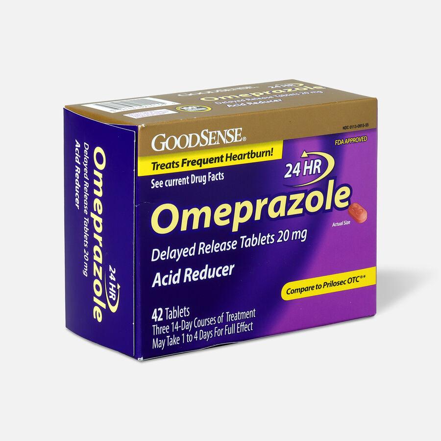 GoodSense® Omeprazole Delayed Release Tablets 20 mg, Acid Reducer, , large image number 5