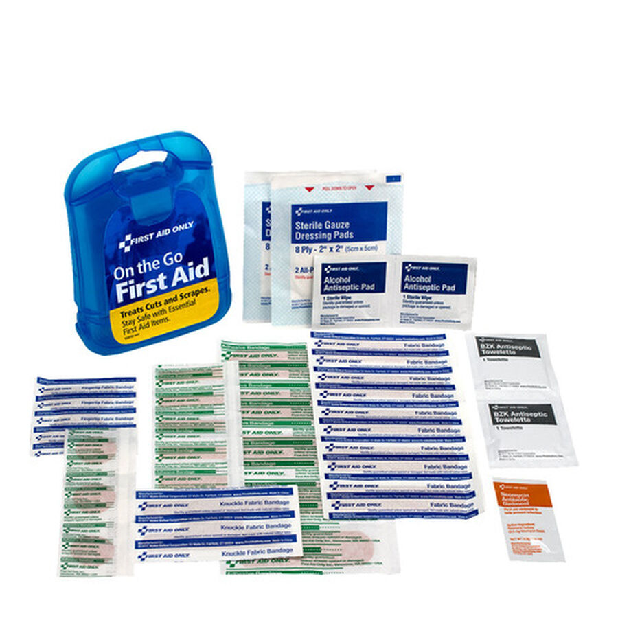 First Aid Only on-the-go First Aid Kit, 27 pcs, , large image number 3