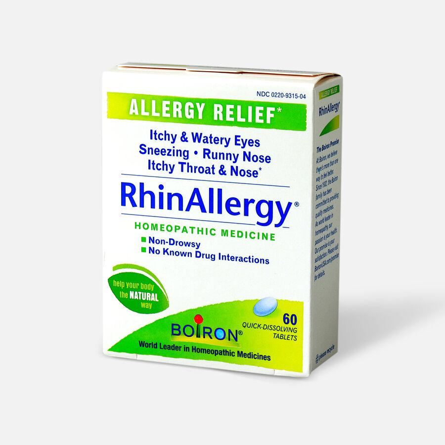 Boiron Rhinallergy Tablets, 60 ct, , large image number 3