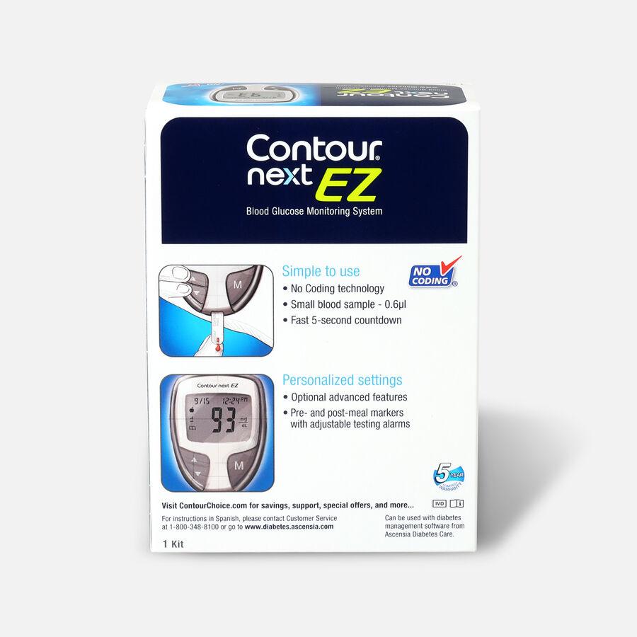 CONTOUR® NEXT EZ Blood Glucose Monitoring System, , large image number 1
