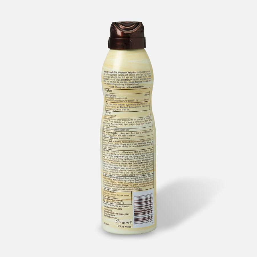 Hawaiian Tropic Silk Hydration Weightless Sunscreen Spray, 6oz., , large image number 5