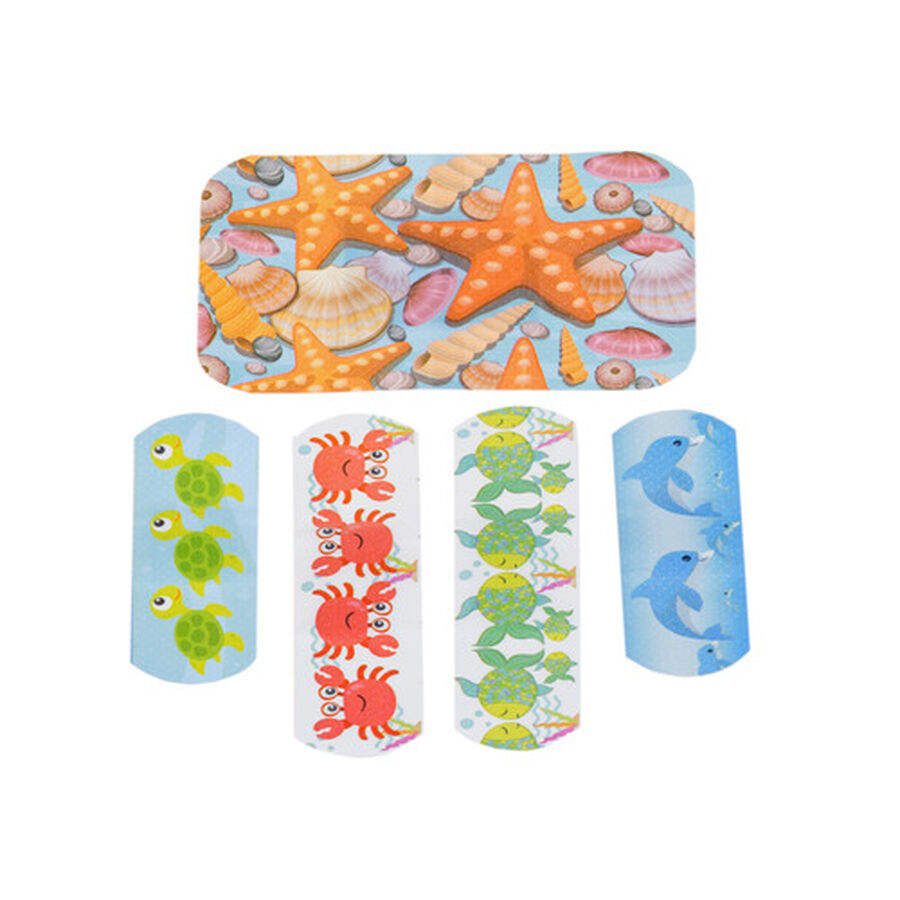 Ouchies Sea Friendz Bandages for Kids, 25 ct, , large image number 2