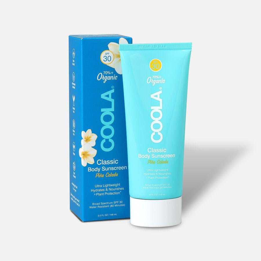 Coola Classic Body Organic Sunscreen Lotion SPF 30 Pina Colada, 5oz., , large image number 0
