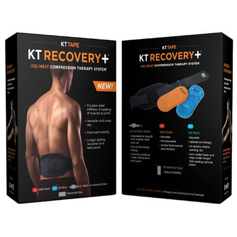 KT Tape Recovery+ Hot Cold Compression Therapy, , large image number 3