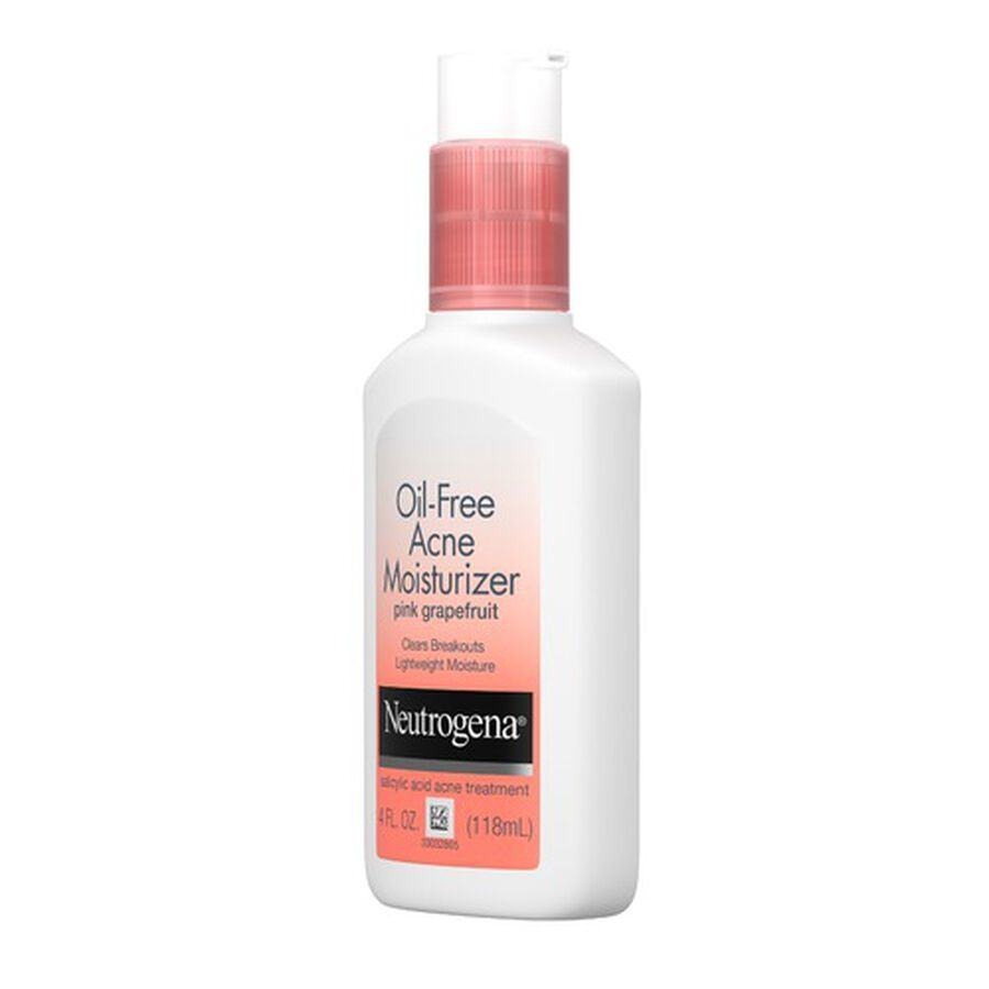 Neutrogena Pink Grapefruit Oil-Free Facial Moisturizer, 4oz., , large image number 2