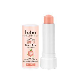 Babo Botanicals Tinted Lip Conditioner, SPF 15, .15 oz