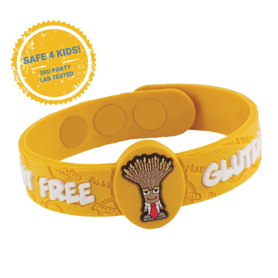 AllerMates Children's Allergy Alert Bracelet - Gluten Awareness, , large image number 4
