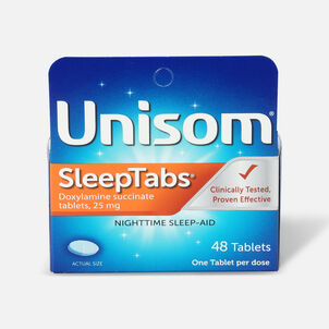 Unisom SleepTabs, Nighttime Sleep-Aid Tablets, 48 ea