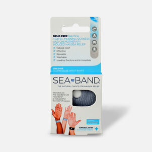 Sea-Band The Original Wristband, Adult, One Size, 1 pr