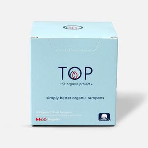TOP Organic Cotton Plant Based Compact Applicator Tampon