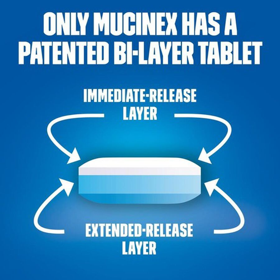 Mucinex SE Extended Release Bi-Layer Tablets, 20 ct, , large image number 4