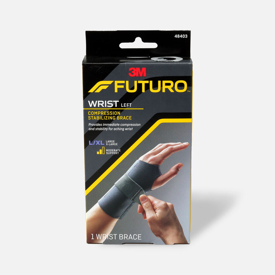 FUTURO Energizing Wrist Support, Left, L/XL, , large image number 0