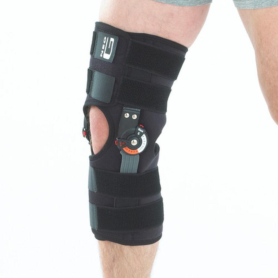 Neo G Adjusta Fit Hinged Open Knee Brace, One Size, , large image number 4