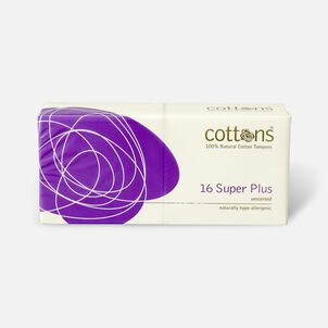 Cottons Super Plus Tampons, 16ct