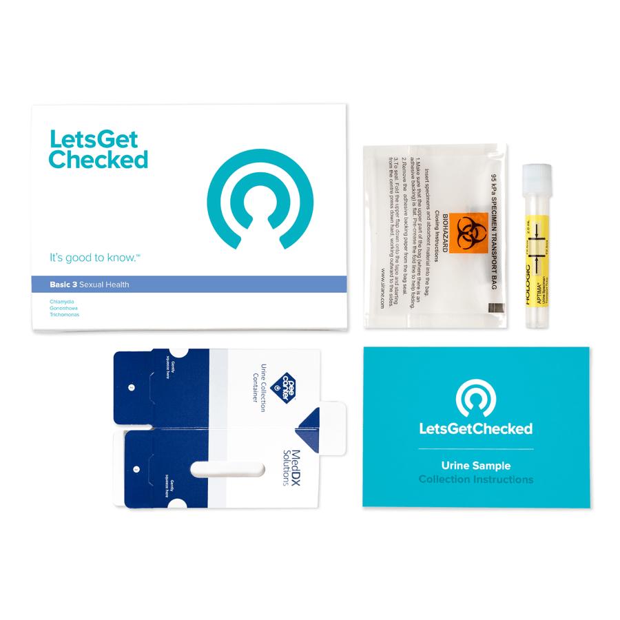 LetsGetChecked Basic 3 STD At Home Test, , large image number 3