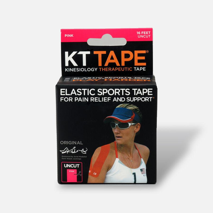 KT Tape Pro Uncut 16 ft roll, Pink, Pink, large image number 0