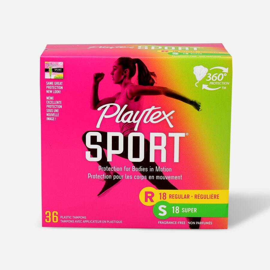 Playtex Sport Multipack Tampons, Unscented (Reg/Super), , large image number 0