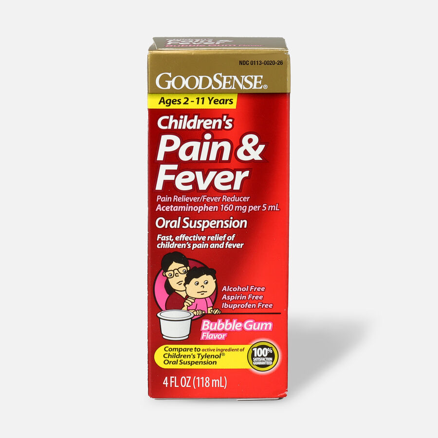 GoodSense® Child Pain Relief 160 mg Liquid, 4 fl oz, , large image number 0