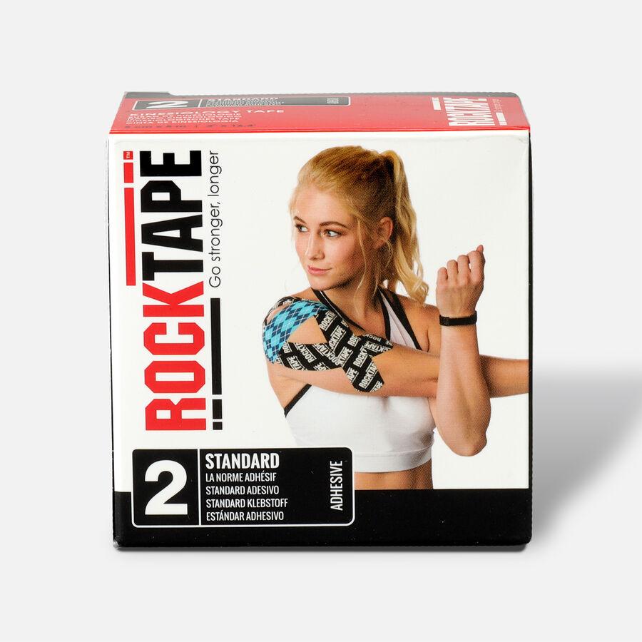 RockTape Standard Roll, Black, 2 in x 16.4 ft, Black, large image number 0