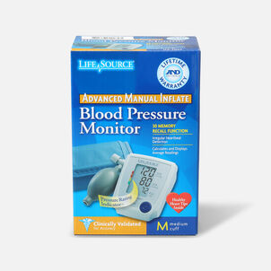 A&D Medical UA-705V Advanced Manual Inflate BP Monitor with Medium Cuff