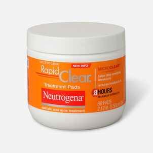 Neutrogena Rapid Clear Treatment Pads - 60ct.