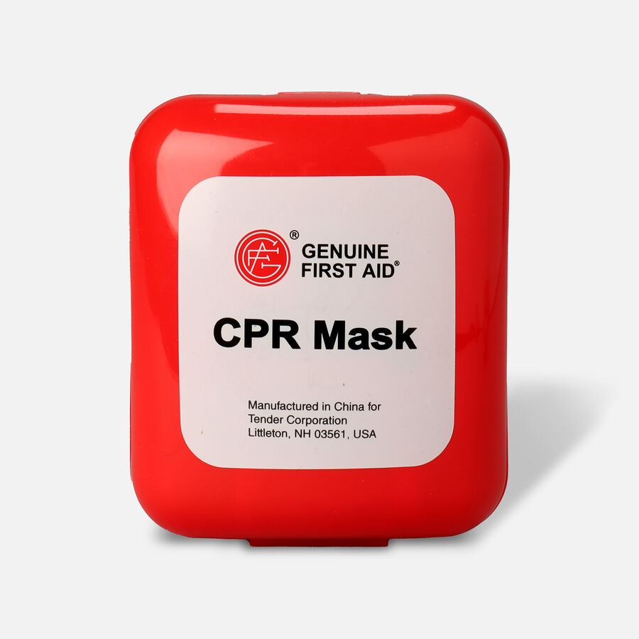 Genuine First Aid Portable CPR Mask, Hard Case, , large image number 1