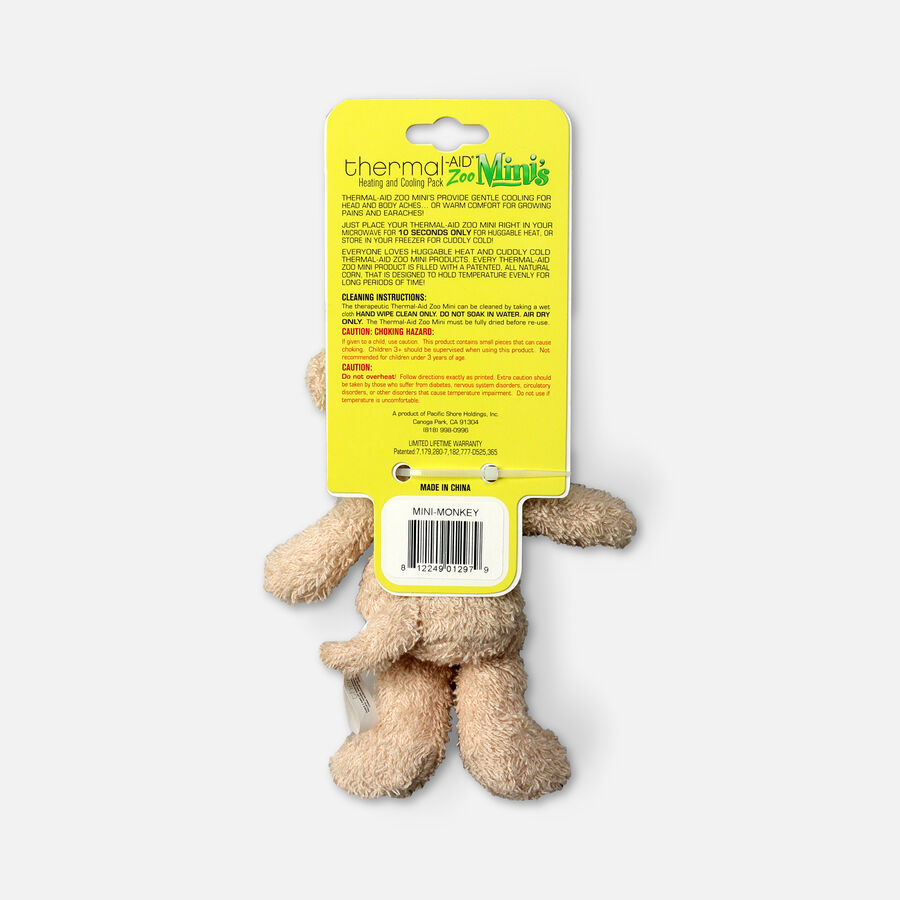 Thermal-Aid Mini Zoo Monkey Hot and Cold Pack, , large image number 1