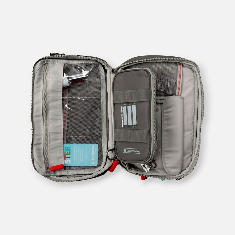 AllerMates Parker 2 in 1 Insulated Large Deluxe Travel Medicine Bag Cases, , large image number 1