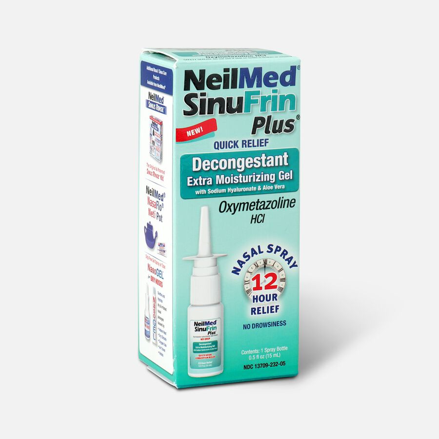 NeilMed SinuFrin Plus™ Decongestant Spray and Moisturizing Gel , , large image number 2