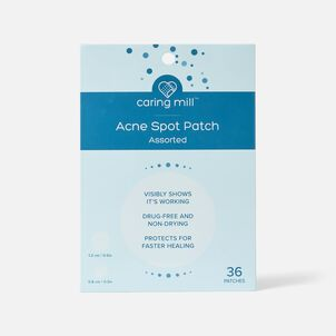 Caring Mill Spot Acne Patch, 36 ct