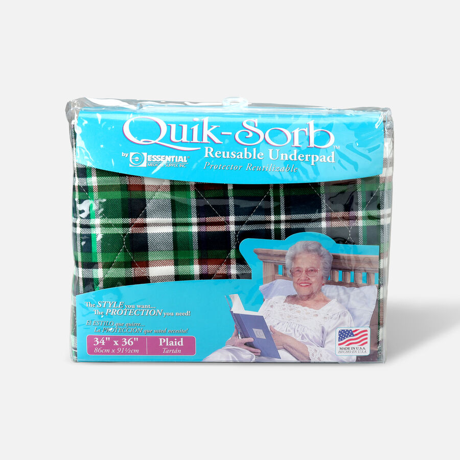 Essential Medical Supply Quik-Sorb Reusable Underpad, , large image number 2