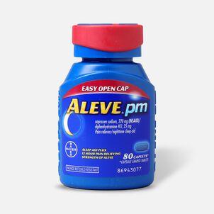 Aleve PM Caplets, Soft Grip Cap, 80ct