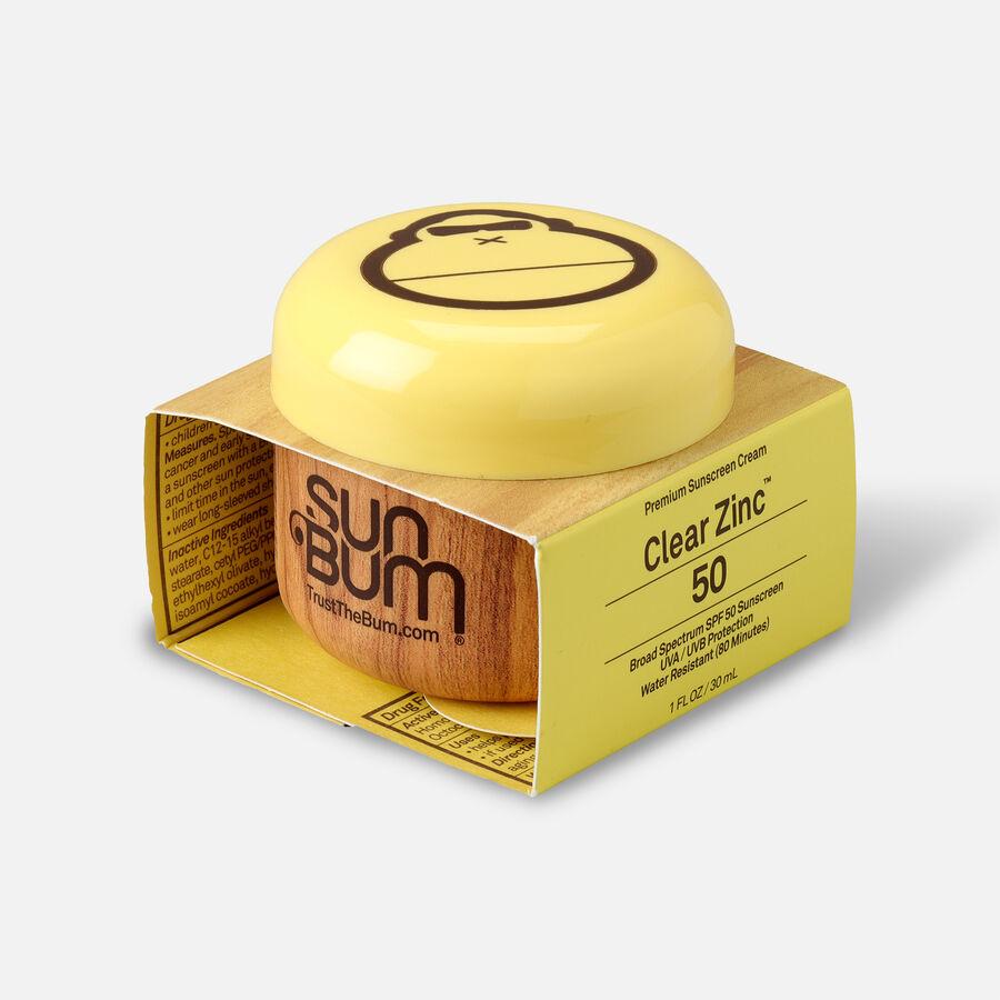 Sun Bum Clear Zinc Oxide Sunscreen, SPF 50, 1 oz Jar, , large image number 2