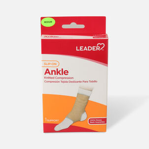 Leader Elastic Slip-On Ankle Support