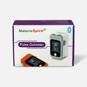 NatureSpirit Bluetooth Fingertip Oximeter, Telehealth Ready