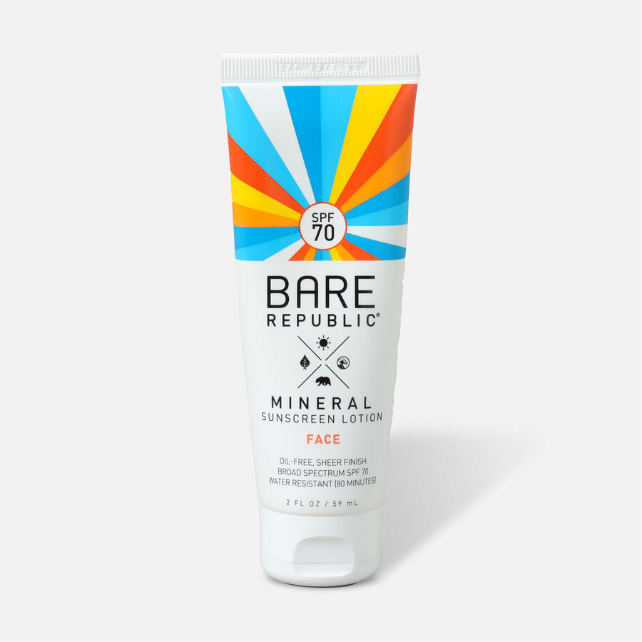 Bare Republic Mineral Face SPF 70 Sunscreen Lotion, 2 Fl Oz, , large image number 0