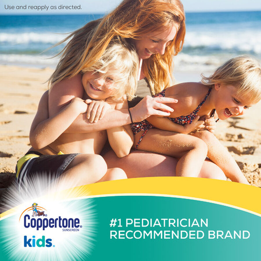 Coppertone Kids Sport Sunscreen Water Resistant Spray SPF 100, 5.5 oz, , large image number 2