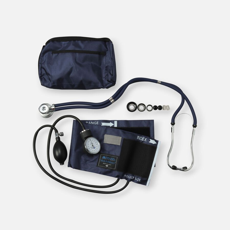 MatchMates Aneroid Sphyg Kit with Stethoscope, , large image number 0