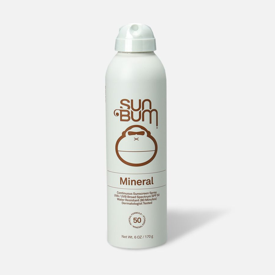 Sun Bum Mineral SPF 50 Sunscreen Spray, 6 oz, , large image number 0