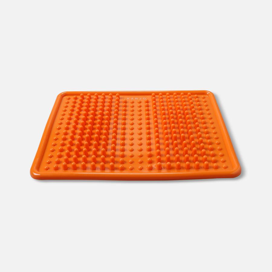 KanjoAcupressure Foot Pain Relief Mat, Orange, , large image number 1